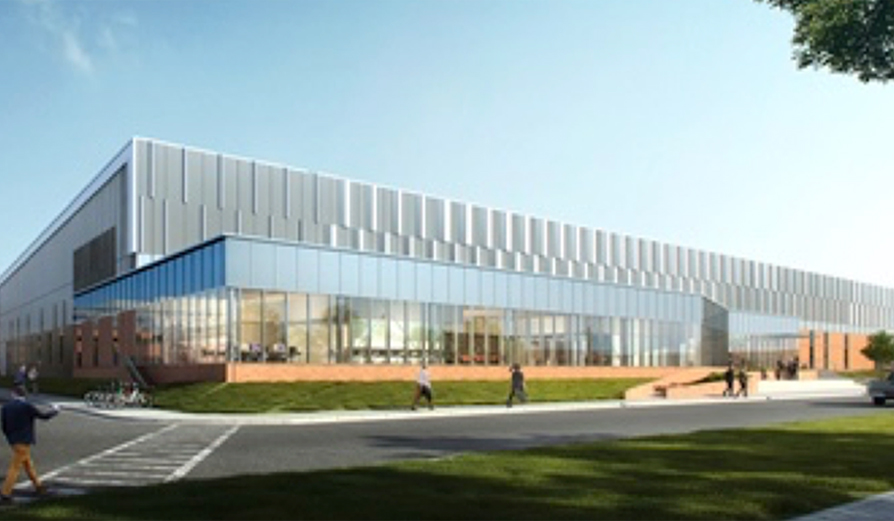 Rendering of MSD FLEx Center on MSD's Rahway campus