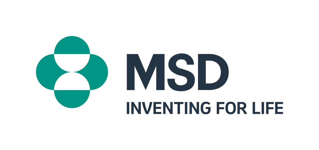 "Logo with green image and the words ""MSD - Inventing for Life"""
