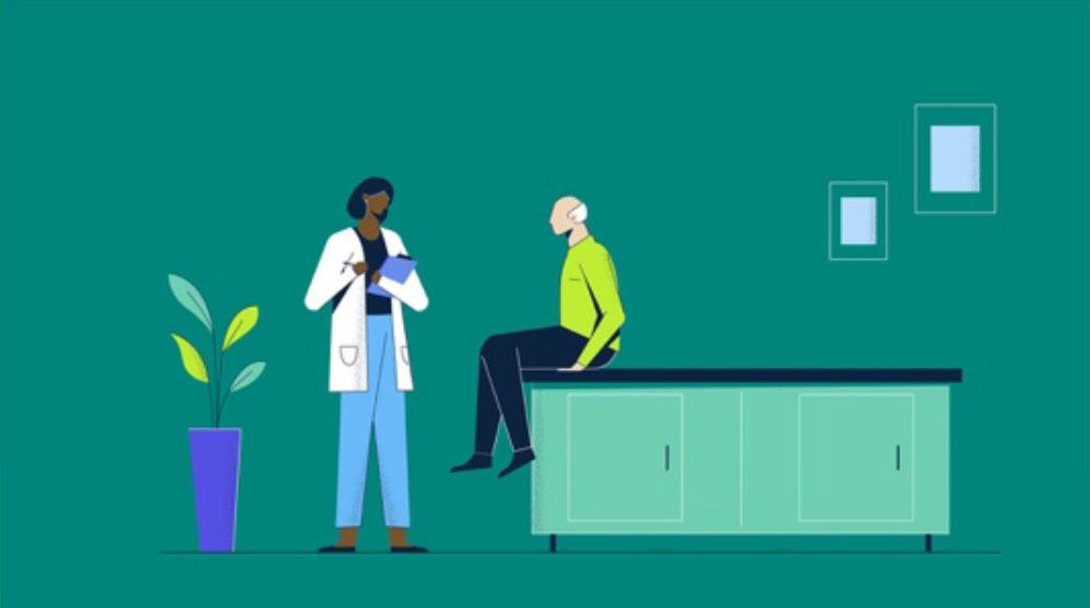 doctors office illustration