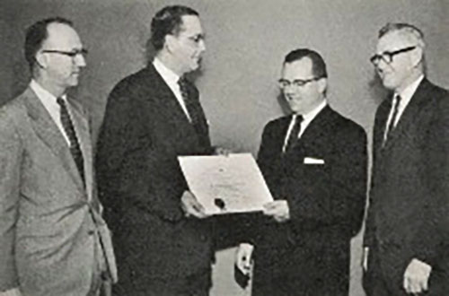 Harry Streep at the Rahway office